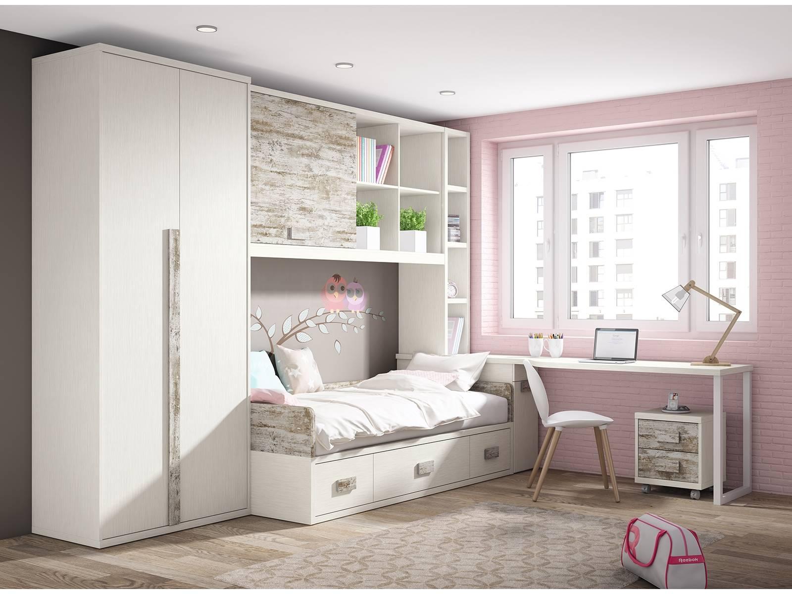 Merkamueble dedicados a la venta de muebles prodecoracion for Armario conforama dormitorio