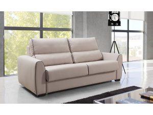 sofa cama merkamueble de piel