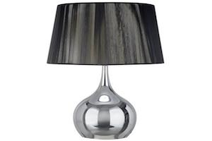 lampara de mesa barata conforama