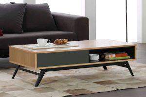 rebajas mesas de centro muebles la fabrica