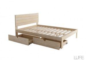 oferta cama de matrimonio muebles lufe