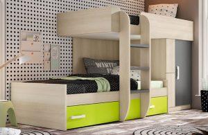 oferta camas tren muebles boom