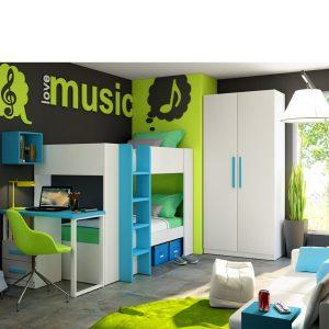 dormitorio juvenil con descuento moblerone