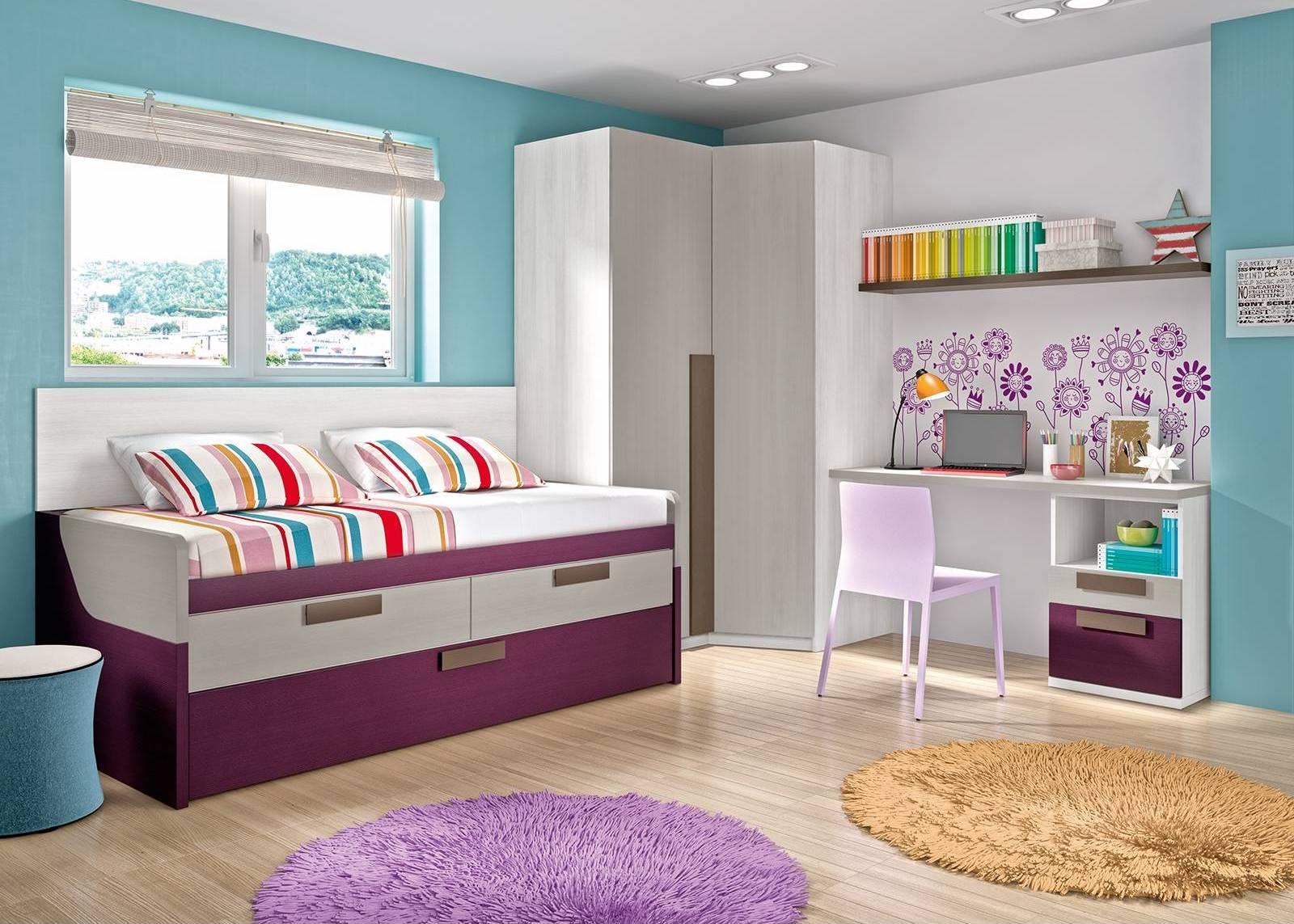 Dormitorios juveniles de merkamueble un mundo por - Decoracion habitaciones juveniles nina ...