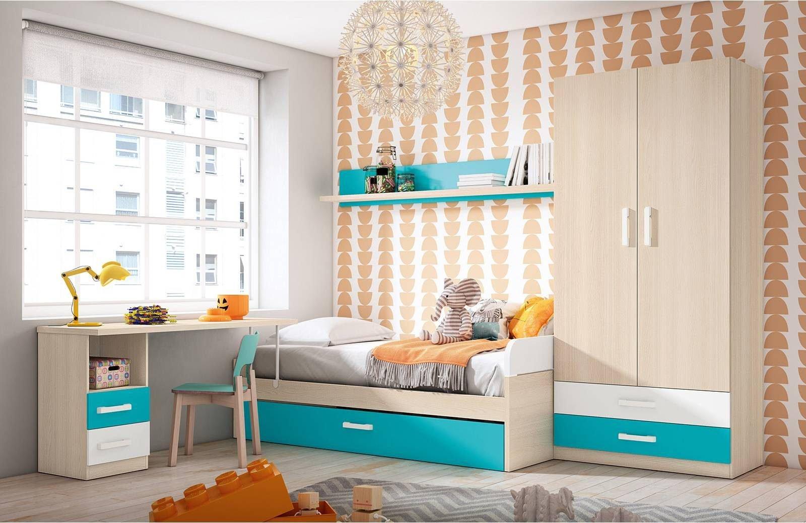 Los 5 mejores dormitorios juveniles con cama nido en merkamueble prodecoracion - Armarios juveniles merkamueble ...
