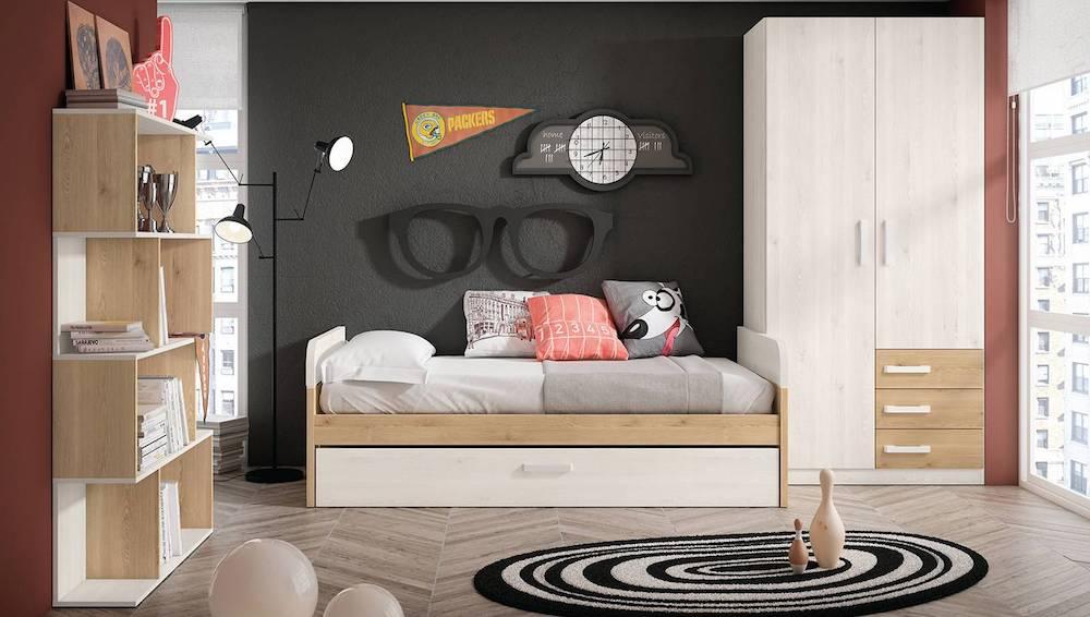 Los 5 mejores dormitorios juveniles con cama nido en - Superstudio muebles ...