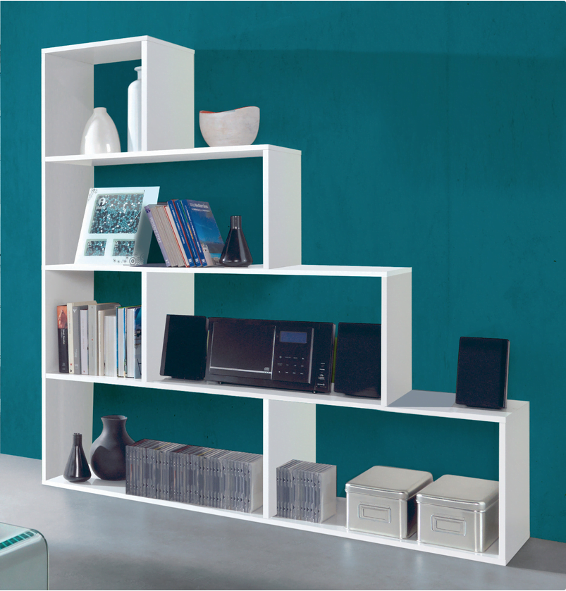 estanterías librerías conforama
