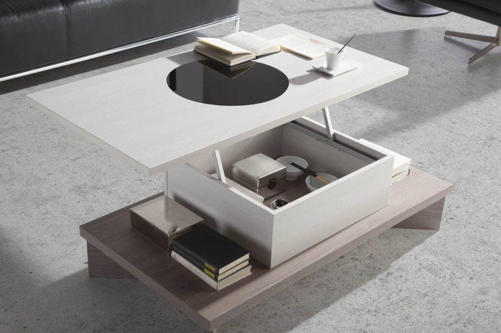 Las mejores mesas de centro elevables merkamueble prodecoracion - Mesa de salon elevable ...