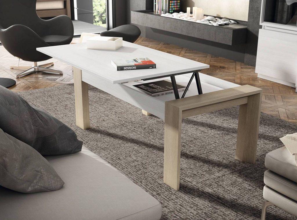 Las mejores mesas de centro elevables merkamueble - Mesas merkamueble ...