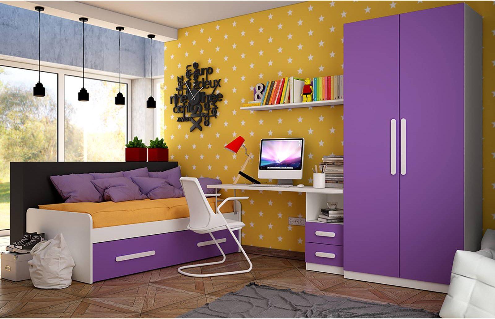 Los 5 mejores dormitorios juveniles con cama nido en merkamueble prodecoracion - Merkamueble camas ...