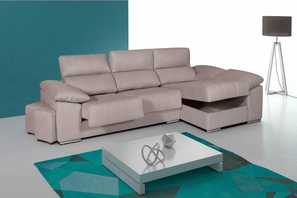 Chaise longue de merkamueble confort en tu sal n prodecoracion - Chaise longue de salon ...