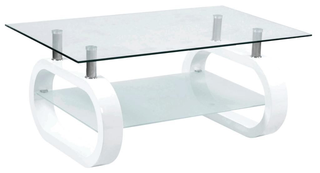 Mesas de centro cristal conforama