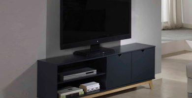 Muebles TV modernos de Muebles la Fábrica