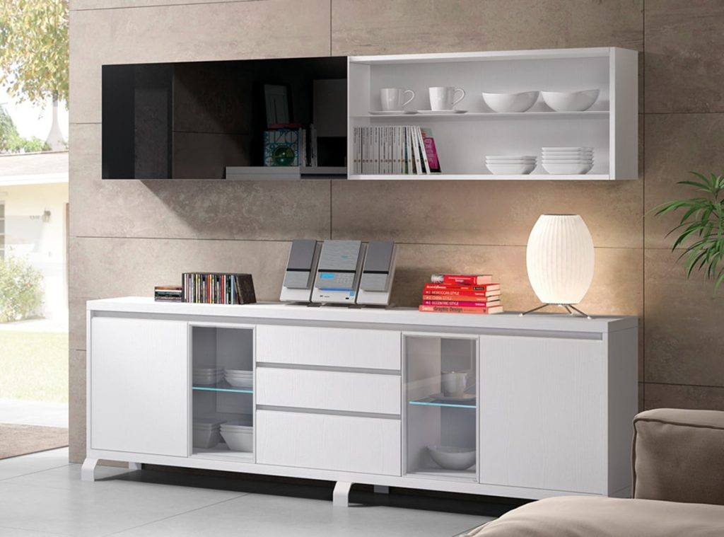Lujoso Guardamuebles Exceso Otomana Componente - Muebles Para Ideas ...