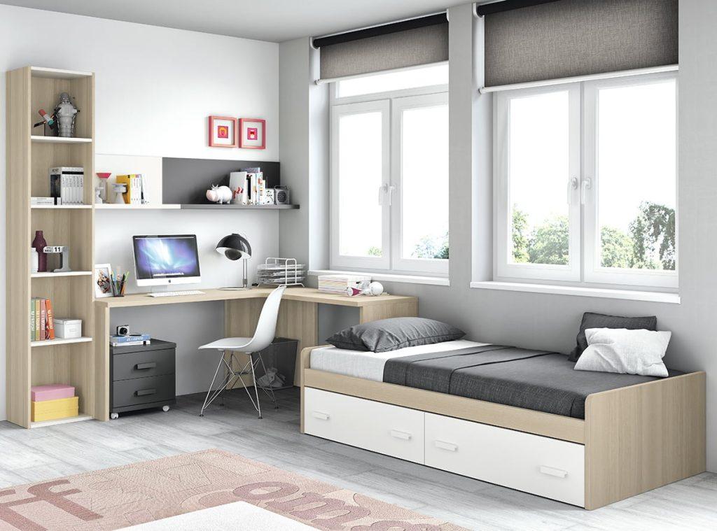 Los mejores dormitorios juveniles de muebles la f brica - Muebles juveniles dormitorios ...