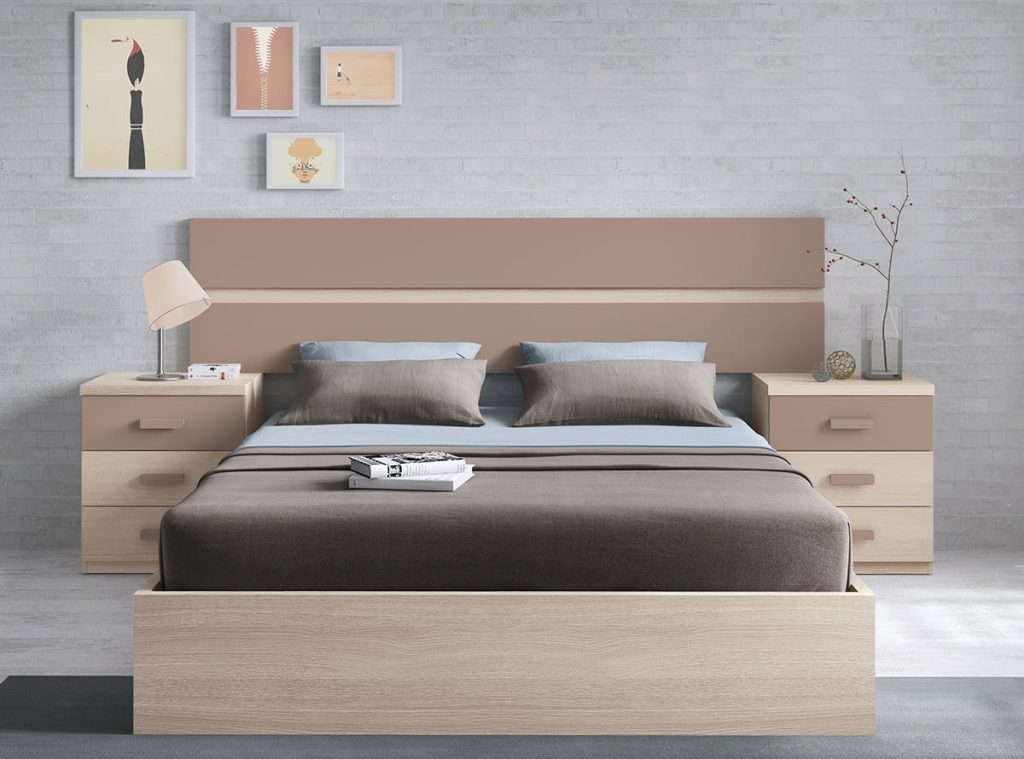 Los 3 mejores dormitorios de matrimonio de muebles la for Muebles la fabrica precios