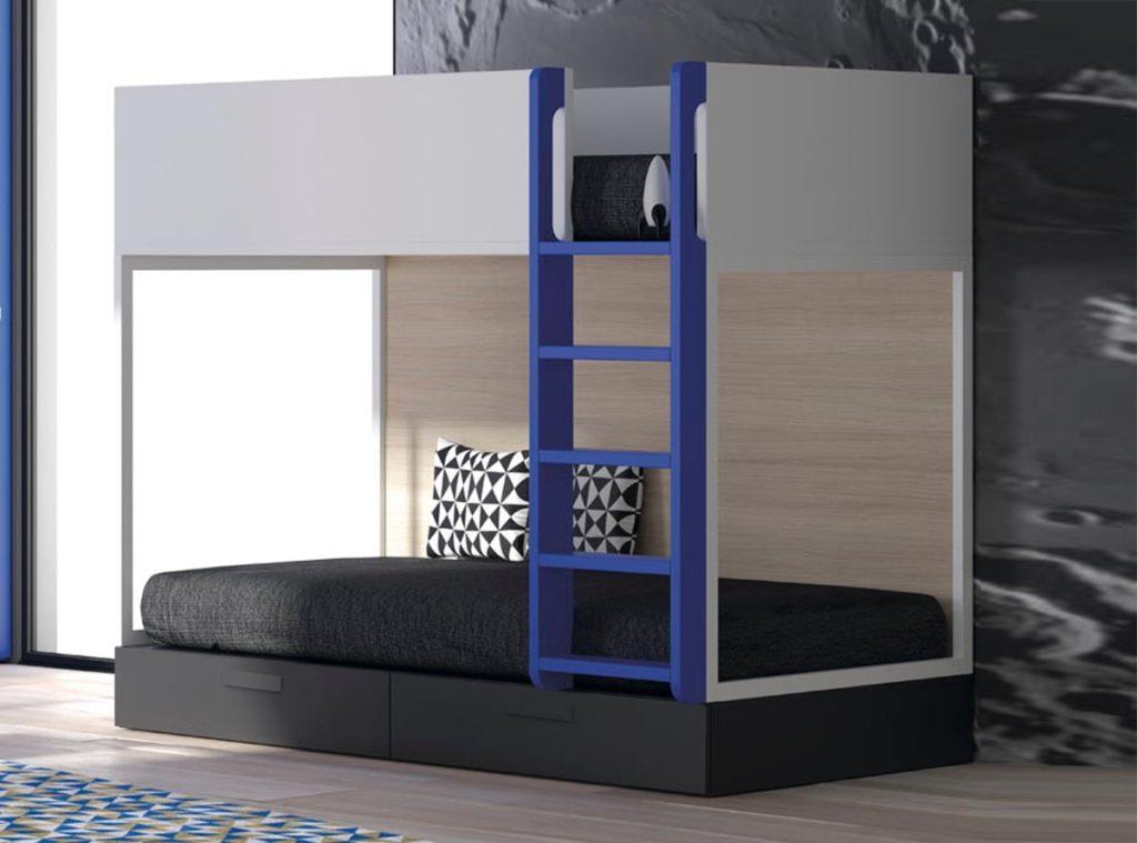 Las literas m s funcionales de muebles la f brica for Muebles la fabrica precios