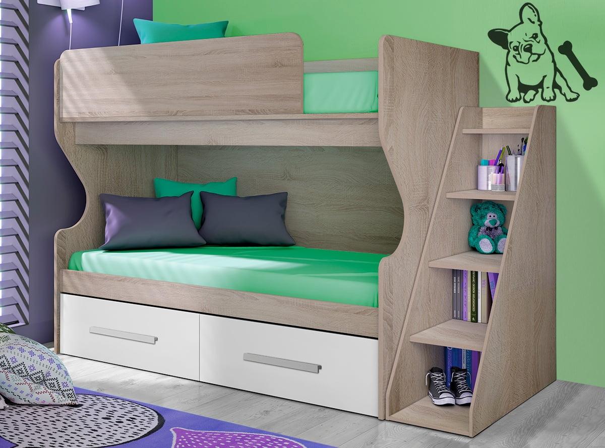 Las literas m s funcionales de muebles la f brica prodecoracion - Le monde muebles ...