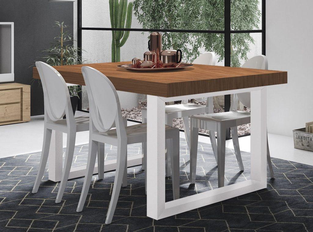 Las mesas de comedor m s baratas de muebles la f brica - Mesas de comedor modernas baratas ...