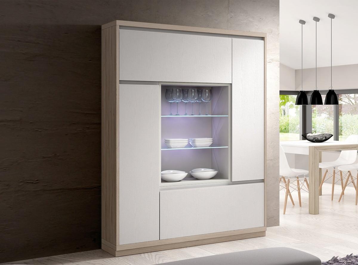 Las 4 mejores vitrinas de muebles la f brica prodecoracion - Vitrinas merkamueble ...