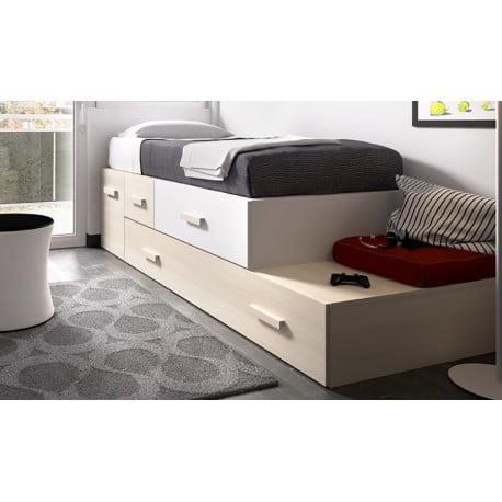 Camas nido de muebles rey ahorra espacio prodecoracion - Cama nido arcon ...