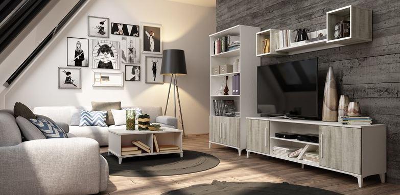 Muebles librerias modernas best full size of mueble en for Muebles rey sevilla telefono