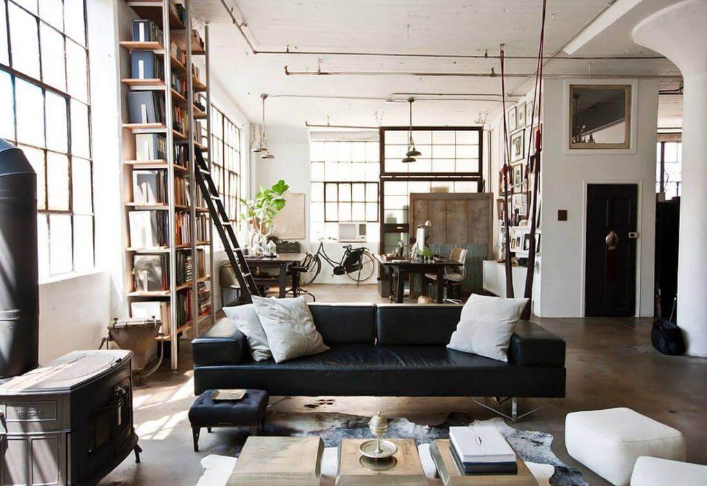 casa estilo industrial
