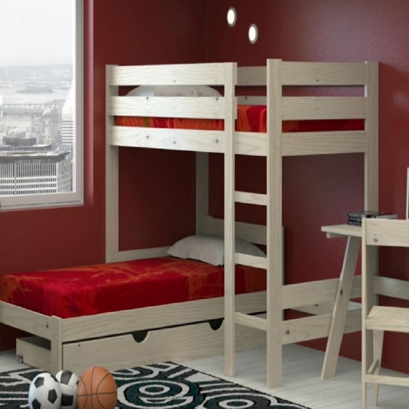 ▷ Cama altas de Lufe, confortable y práctica! | Prodecoracion