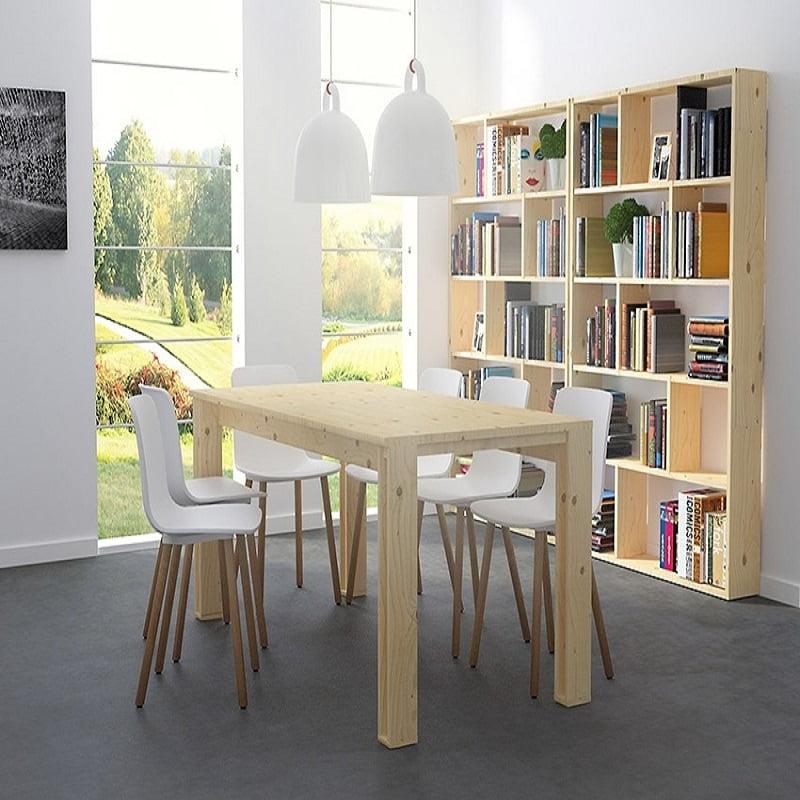 ▷ Mesas de comedor con acabados de primera Lufe | Prodecoracion