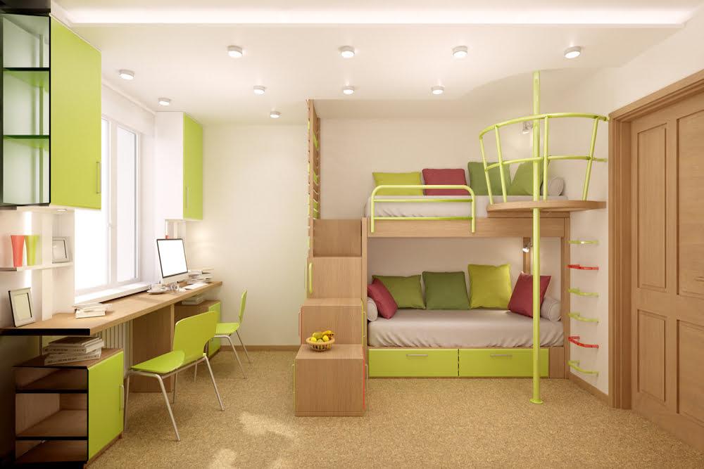 habitaciones infantiles dobles