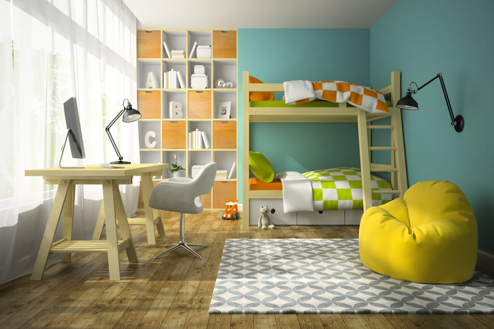 habitaciones infantiles niño