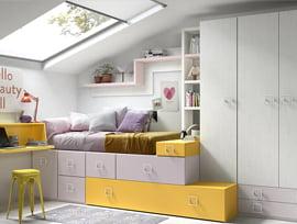 dormitorios juveniles low cost kibuc