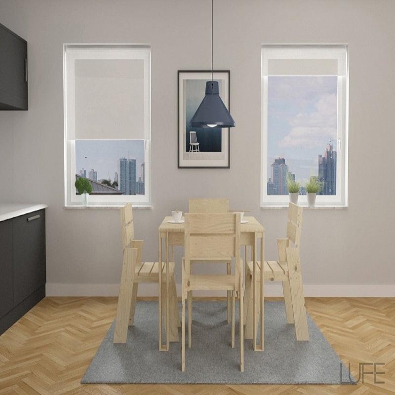 mesas de comedor con sillas lufe