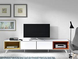 mueble tv barato kibuc