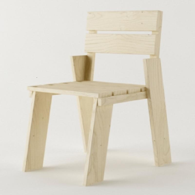 sillas de madera lufe