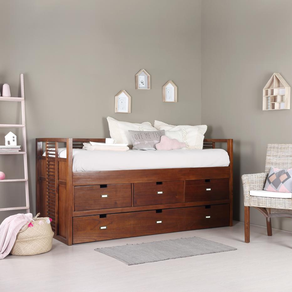 La cama nido m s confortable de banak importa prodecoracion for Cama nido barata online
