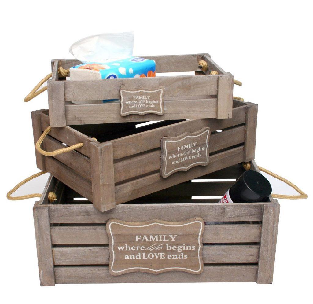 Baratas cajas de madera Superstudio
