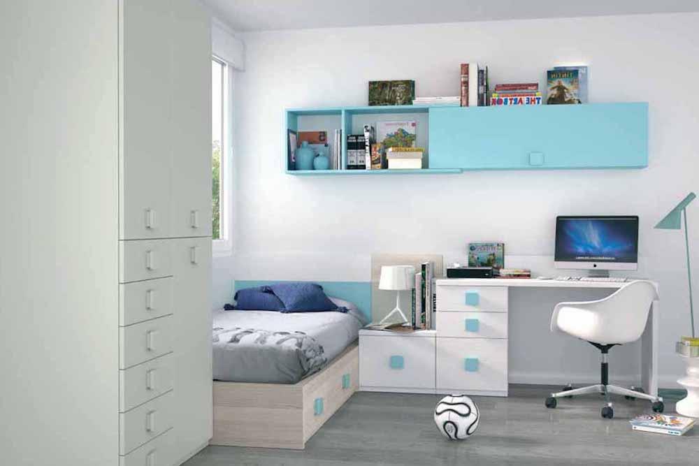 habitaciones juveniles para hombres