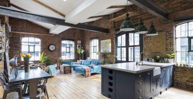 muebles estilo vintage moderno