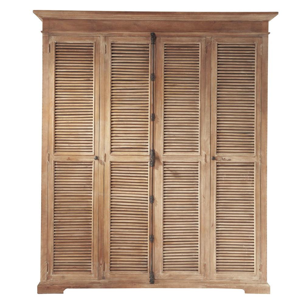 Armarios de madera blanco Maisons du Monde