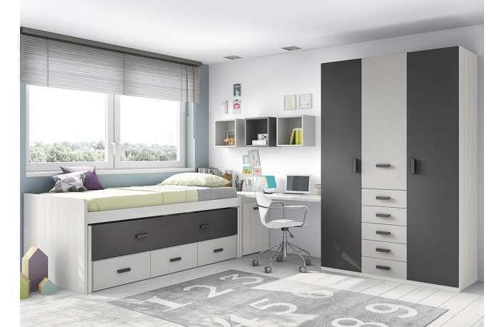 modernos y confortables dormitorios juveniles muebles boom