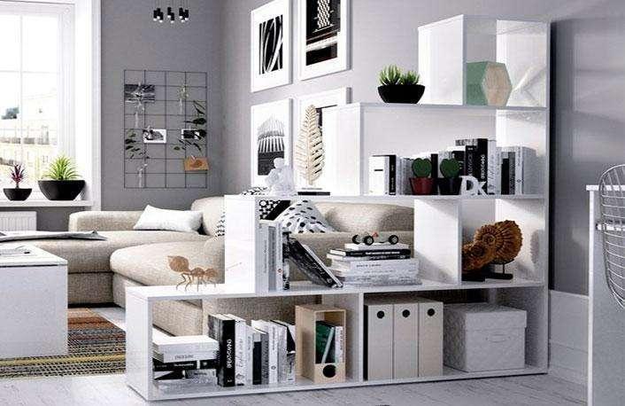 Originales estanter as para tu hogar muebles boom - Estanterias separadoras de ambientes ...