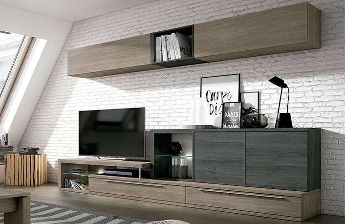 Ahorra con estos elegantes salones de muebles boom for Salones completos baratos