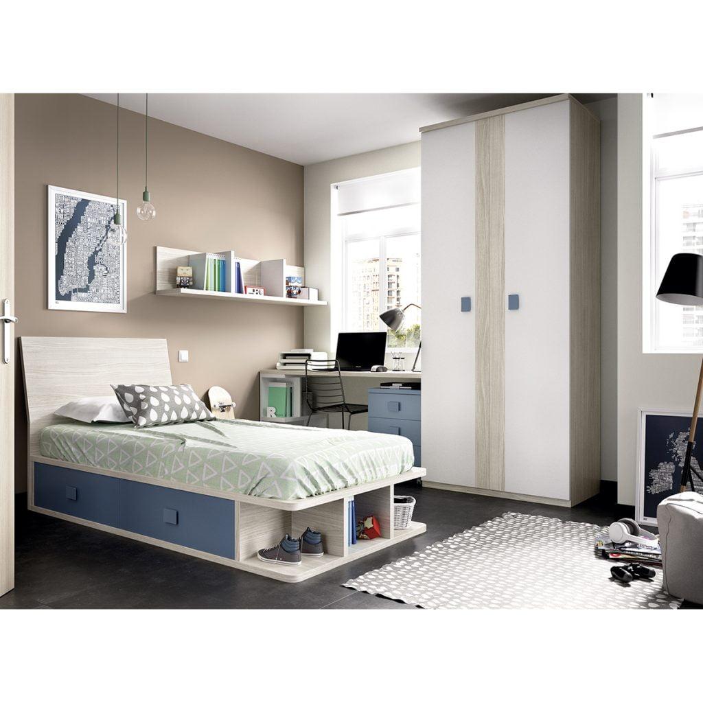 Baratos dormitorios Juveniles Moblerone