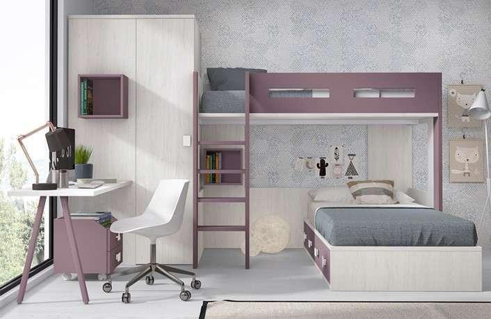 El dormitorio perfecto con modernas literas de muebles for Muebles boom lleida