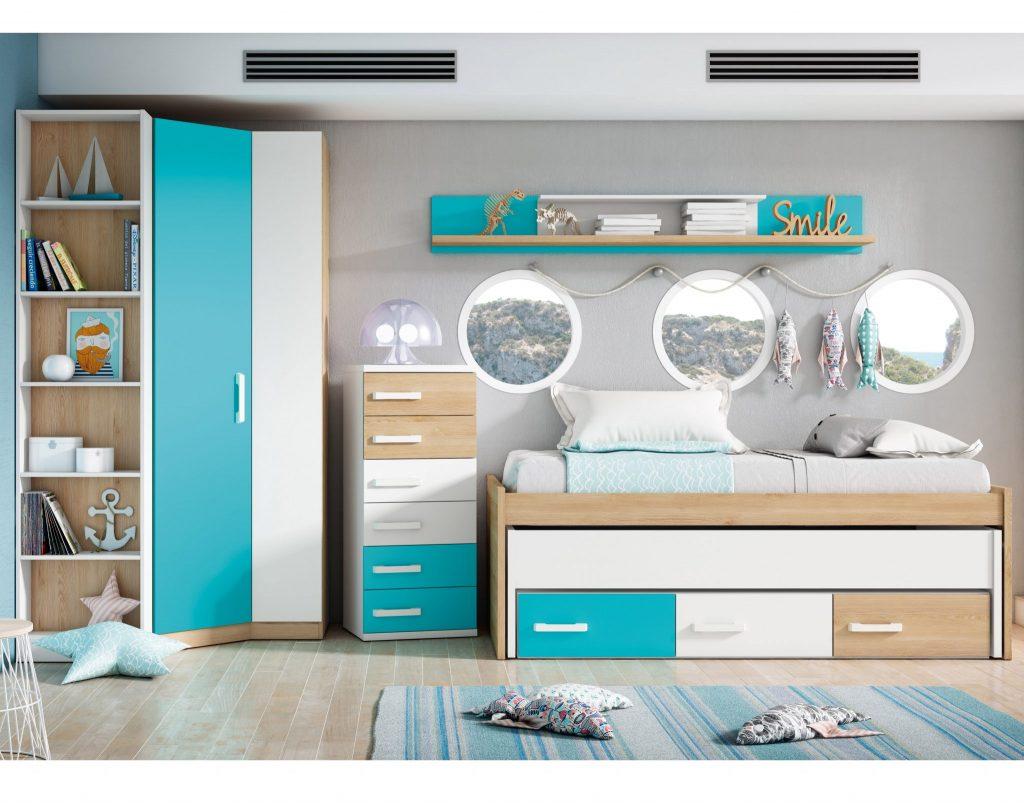 Modernos dormitorios juveniles al mejor precio moblerone for Dormitorios juveniles modernos precios