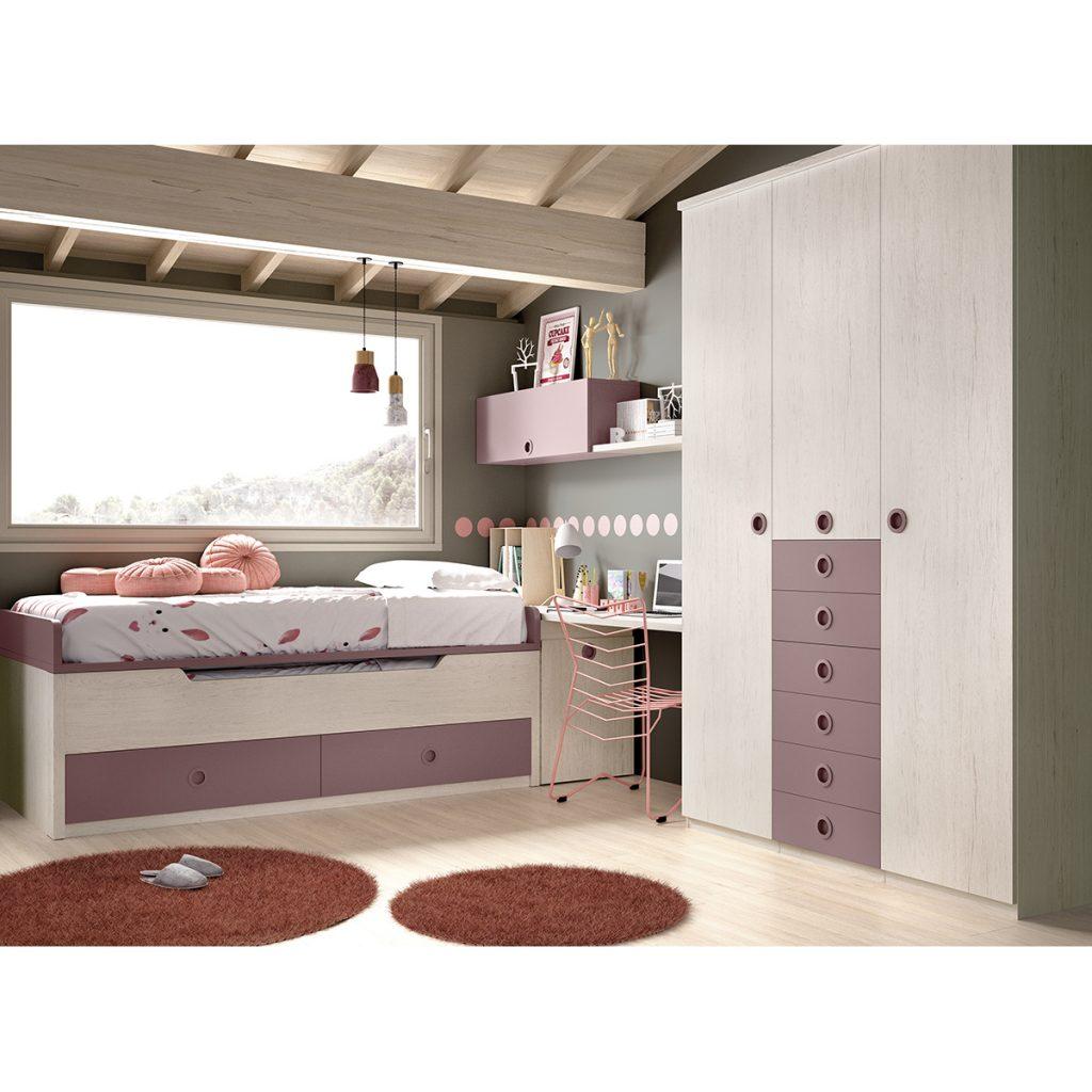Dormitorios Juveniles modernos Moblerone
