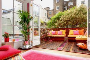 como decorar terrazas pequeñas