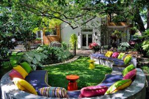 decoracion de jardines con flores