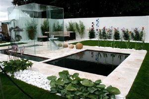 decoracion de jardines pequeños minimalistas